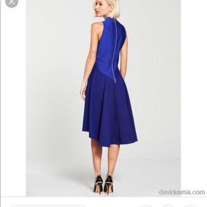 NWT sz 2 Ted Baker Kandal dress in blue
